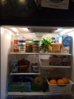 What's in your fridge.